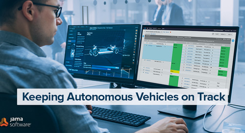 Keeping Autonomous Vehicles on Track