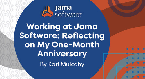 Working at Jama Software: Reflecting on My One-Month Anniversary