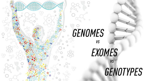 Genomes versus exomes versus genotypes