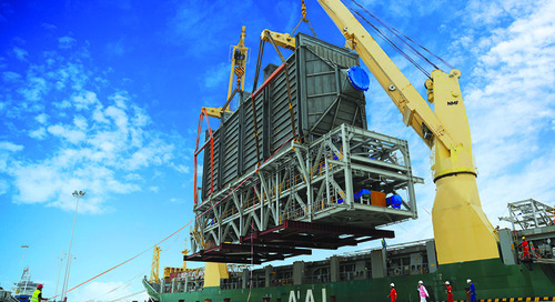 Charters mitigate megaproject cargo risk