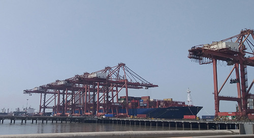 Larger ship calls challenge Indian port productivity