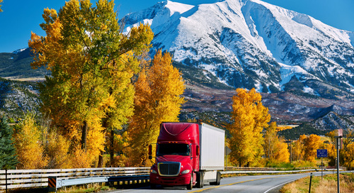 US trucking market flashes a turn signal