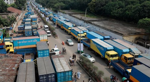 Bangladesh shippers fear chaos from looming trucker strike