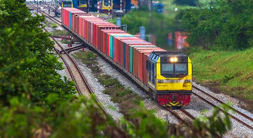 China-Europe rail rates falling as volumes rise