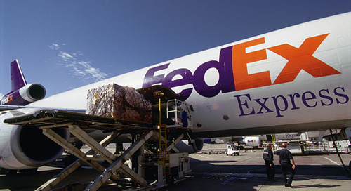 Changing package, freight mix rattles FedEx Express