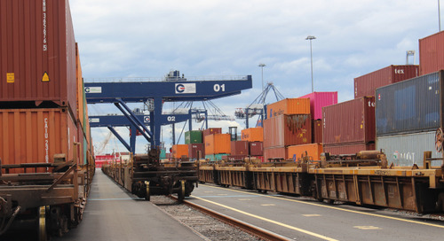Rail project completion boosts NY-NJ port's Midwest reach