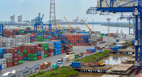 NVO share of US imports from Asia down slightly