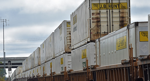 US intermodal slump raises truck competitiveness questions