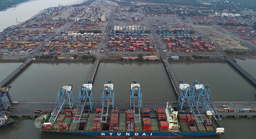 Deeper channel allows more mega-ship calls at JNPT
