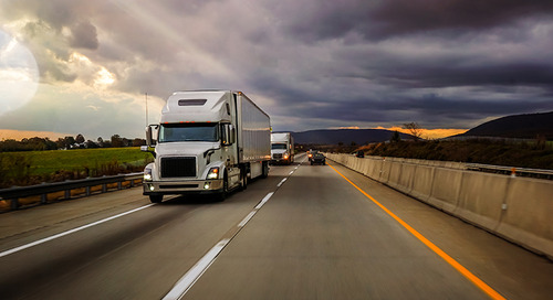Small US truckers feel pinch as pricing drops