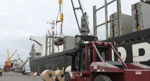 Despite trade friction, Mobile port expansion continues