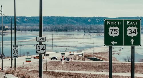 Historic Omaha floods wrack supply chains