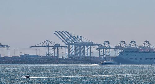Technology driving emissions reduction at LA-LB port