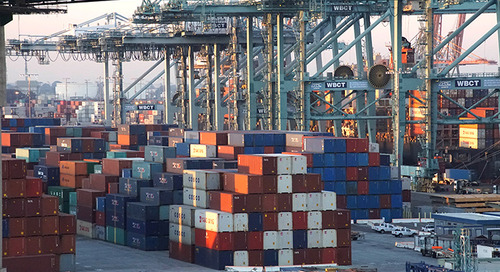 Flood of empty container returns delays LA-LB recovery