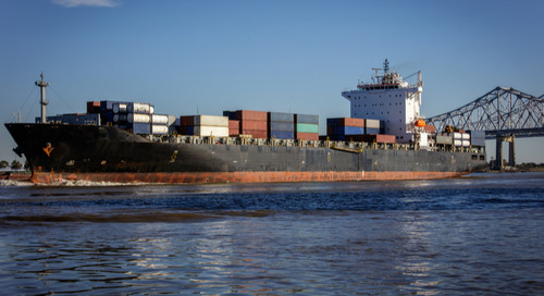 Storm shuts New Orleans container terminal