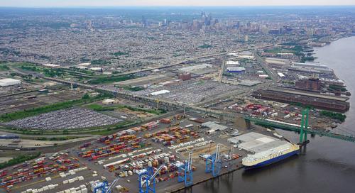 Philadelphia port expanding forest product capacity