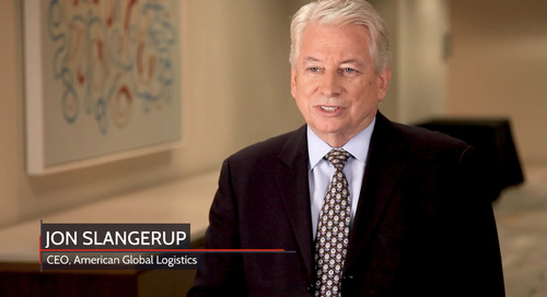 Sponsored Video: American Global Logistics' Slangerup on customization for supply chain challenges