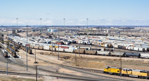 Container congestion ripples to US interior