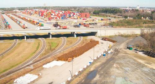 Rail lift gains show deeper East Coast port reach