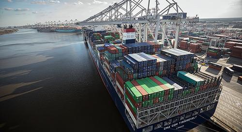 Savannah expanding mega-ship handling ability