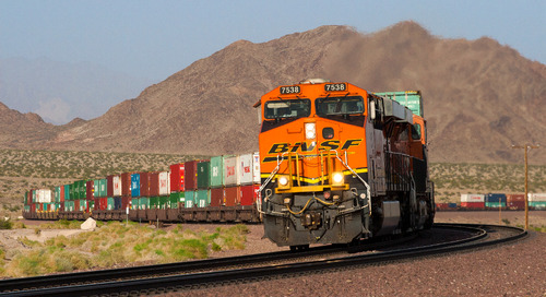 Few bright spots in official 1Q intermodal data