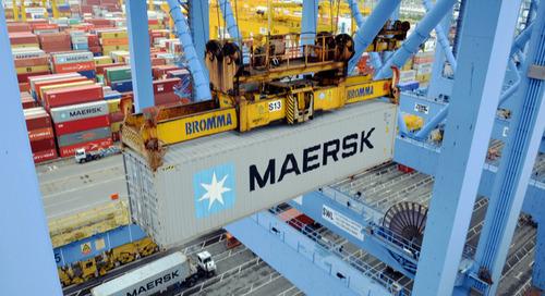 Maersk boosts profits, warns of tariffs slowing trade