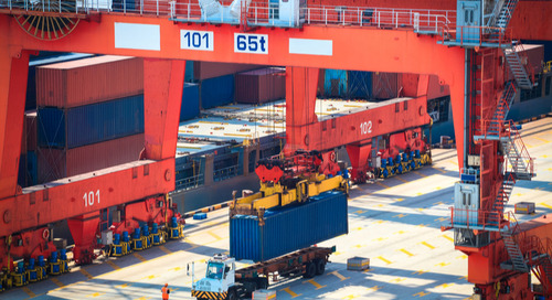 Asia-Europe capacity cuts slow falling container spot market