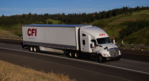 Large US truckload carriers 'rebalance' business