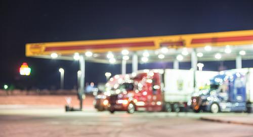 Truck driver hours violations drop in ELD era