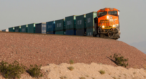 Intermodal struggling to lure shippers: survey