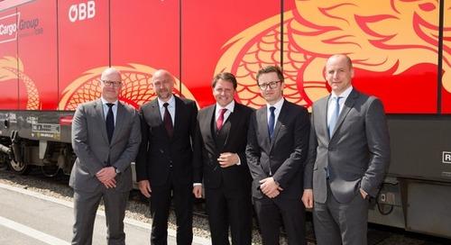 DHL and Rail Cargo Group launch China-Austria rail network