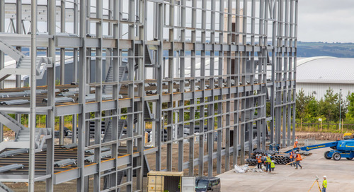 Lidl starts work on EuroCentral distribution centre