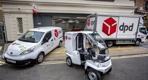 DPD opens first electric parcel depot in London