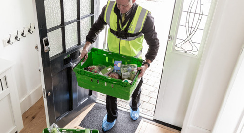 Waitrose to put away groceries for home delivery customers