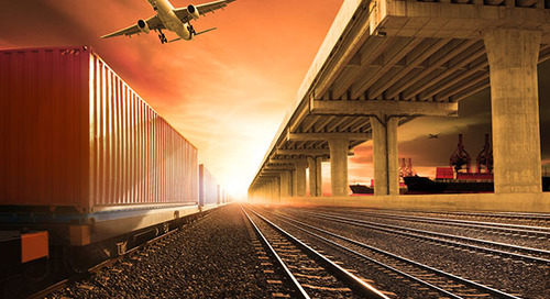 U.S. rail carload and intermodal volumes see slight annual gains