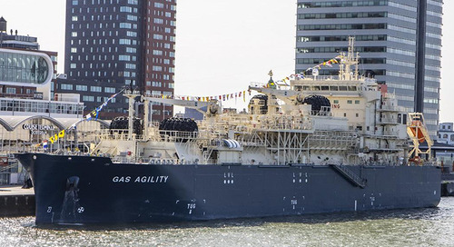 Total and MOL name world's largest LNG bunkering vessel in Rotterdam ceremony - Marine Log