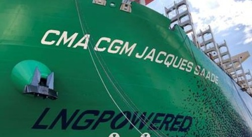 World's Largest LNG-Powered Container Ship Launched - The Maritime Executive