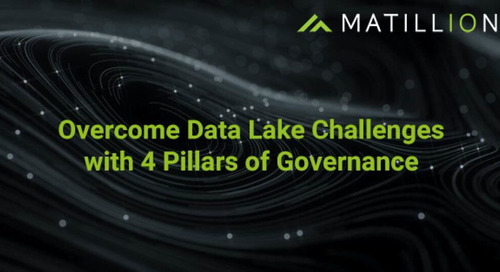 Overcome Data Lake Challenges with 4 Pillars of Governance