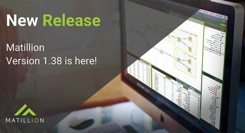 What's new in Matillion version 1.38?