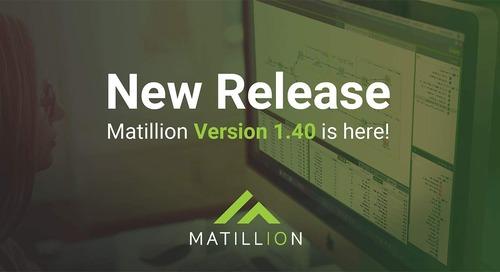 What's new in Matillion ETL version 1.40