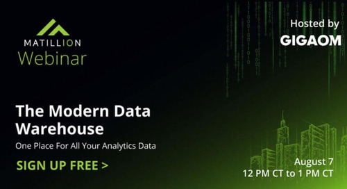 The Modern Data Warehouse: One Place for All Your Analytics Data (Free Webinar)