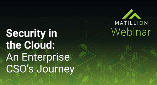 Enterprise Cloud Security: One CSO's Journey (free webinar)