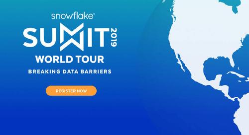 Join Matillion at the Snowflake Summit World Tour