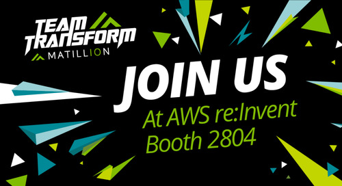 Team Transform is ready for AWS re:Invent. Join us.