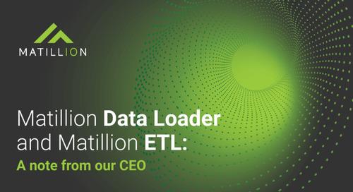 Matillion Data Loader and Matillion ETL: A complete data transformation solution