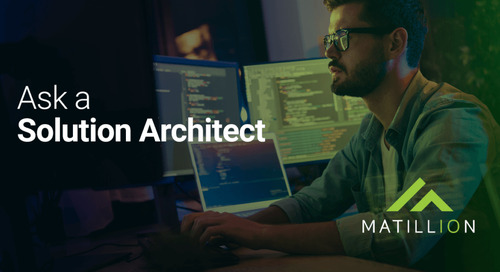 Ask a Solution Architect: How do I add a complex schedule to Matillion ETL?