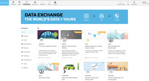 How to Get Matillion to Work With Snowflake Data Exchange