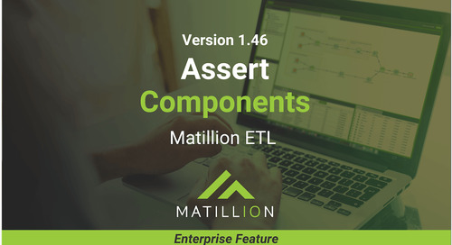 Assert Unit Test Components: Validating Objects in Matillion ETL