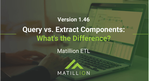 Query vs. Extract Components: What's the Difference?