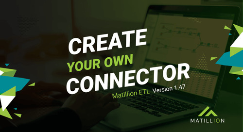 How to Create Your Own Connector in Matillion ETL